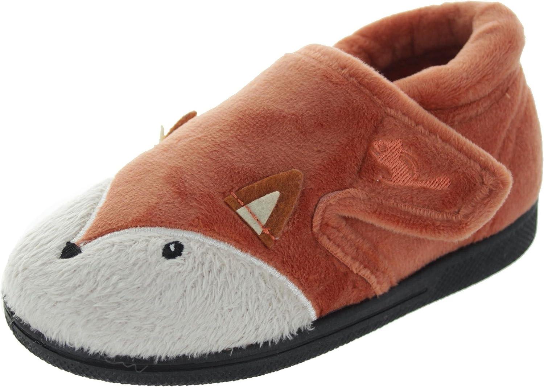 Fox Hi-Top Slippers Chipmunks Boys Mr