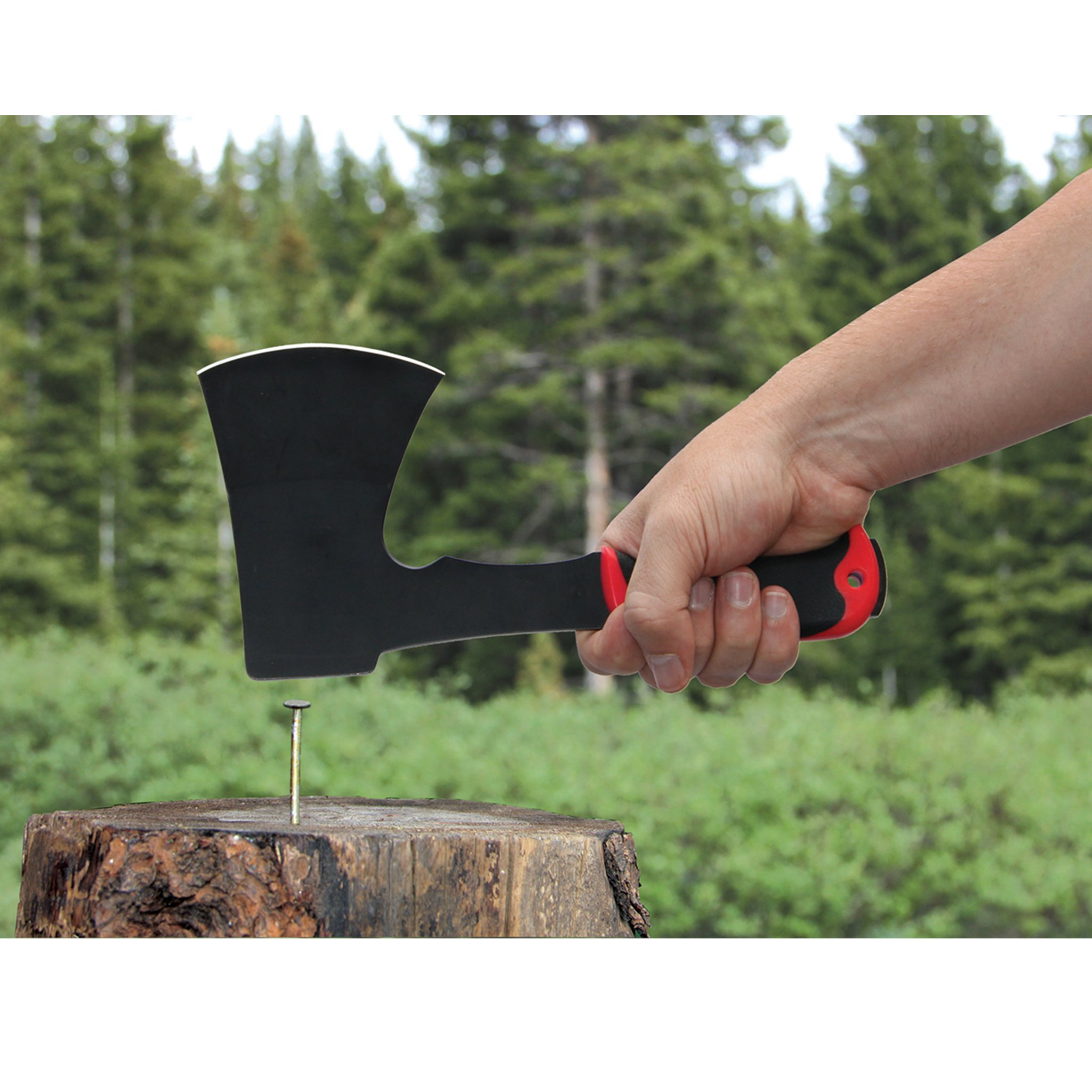 Outdoor Edge WoodDevil, WX-1C, Camp and Hunting Hatchet, Wood Axe by Outdoor Edge (Image #4)