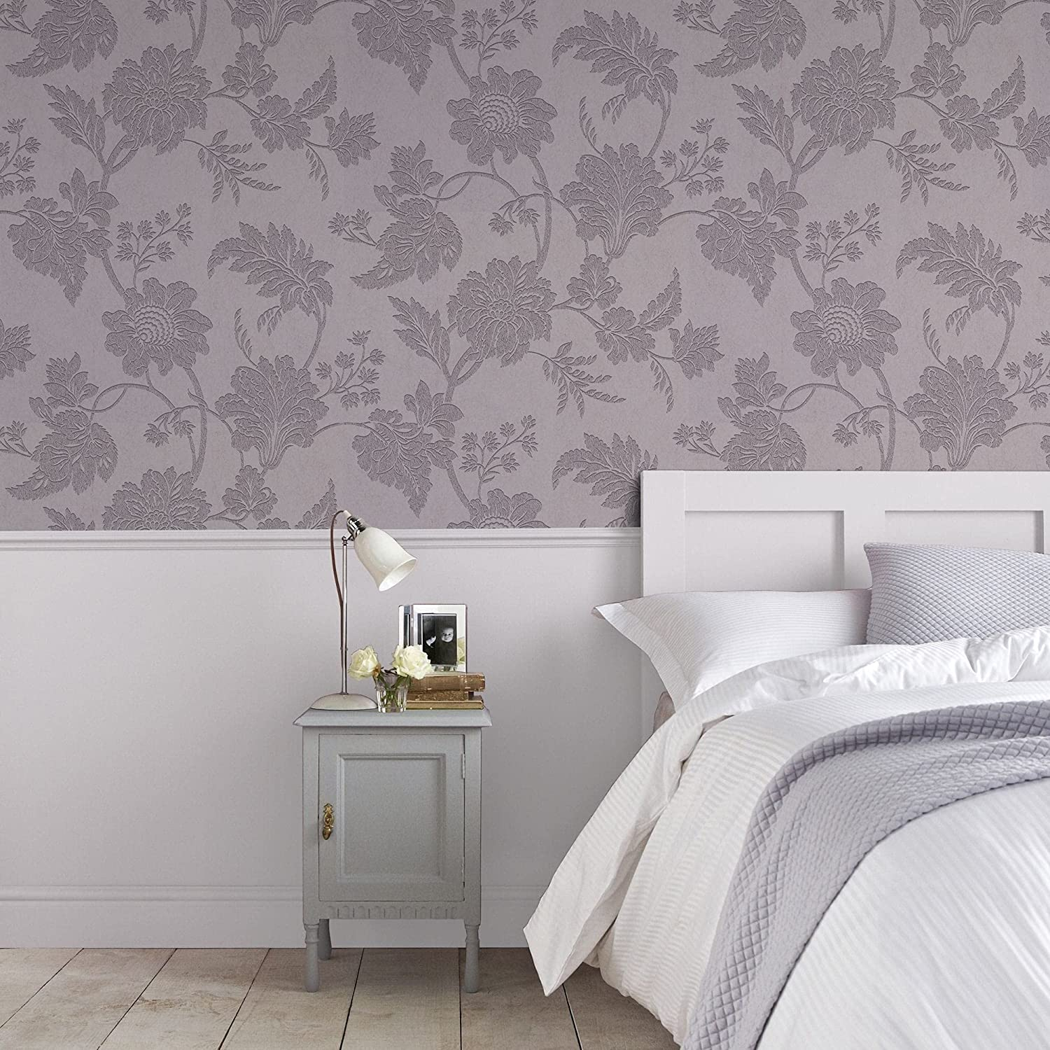 Graham Brown Free shipping anywhere in the Max 82% OFF nation 33-338 Wallpaper Mulberry Mystique