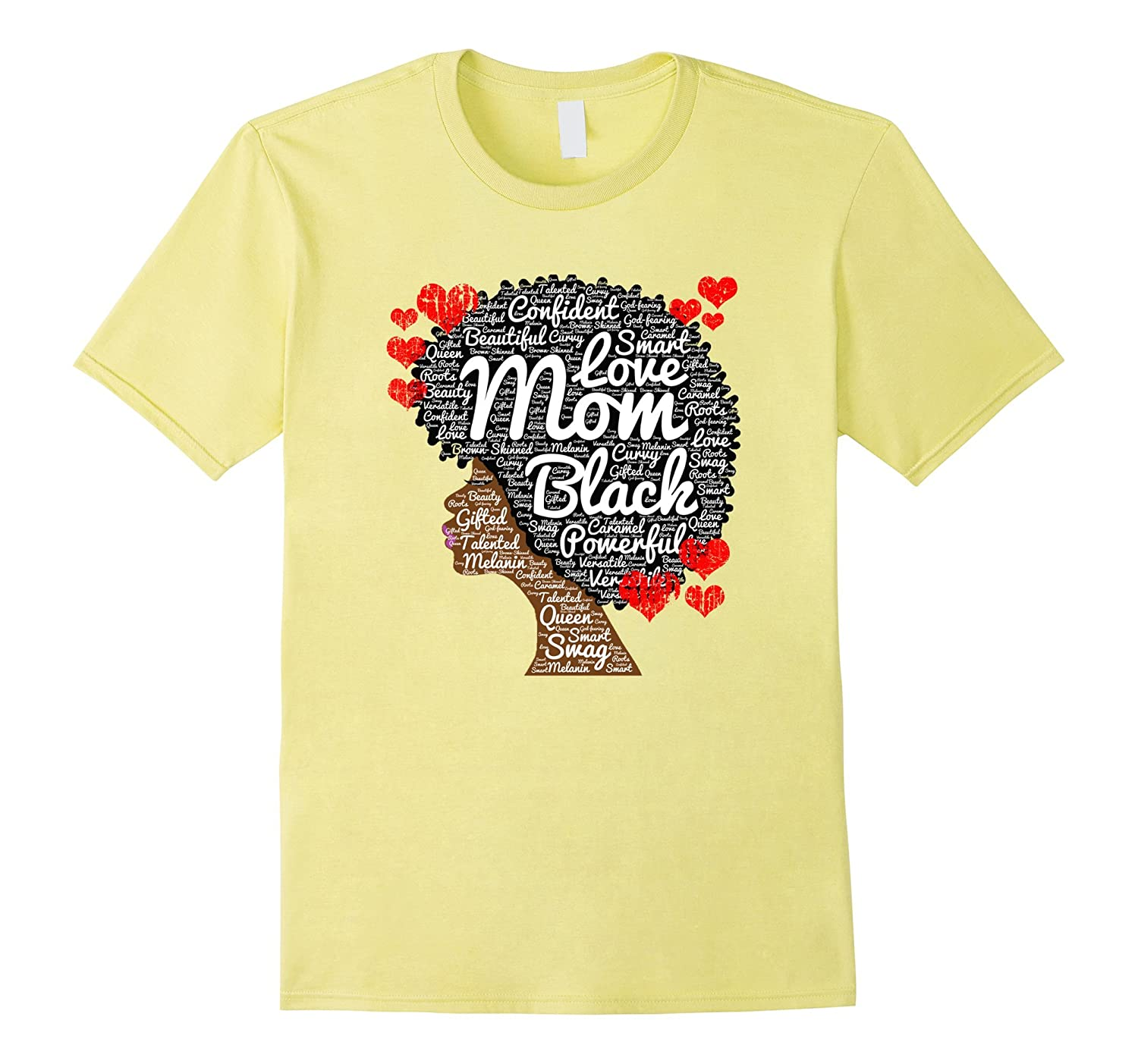 a3a0df40f Mothers Day Gift T-Shirt for Black or African American Moms-Vaci ...