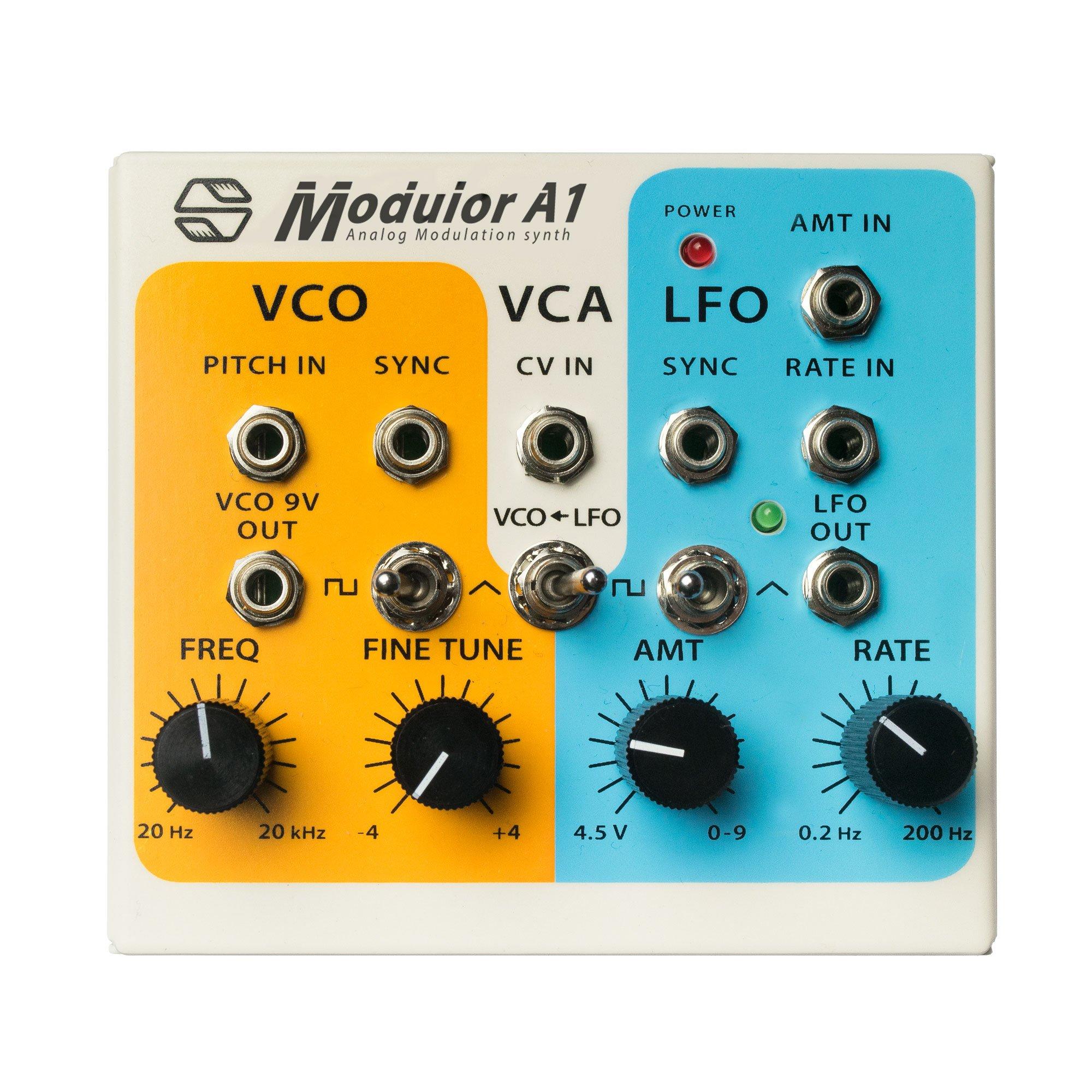 Modulor A1 : Semi-Modulor Analog Modulation Synthesizer by Sonicsmith