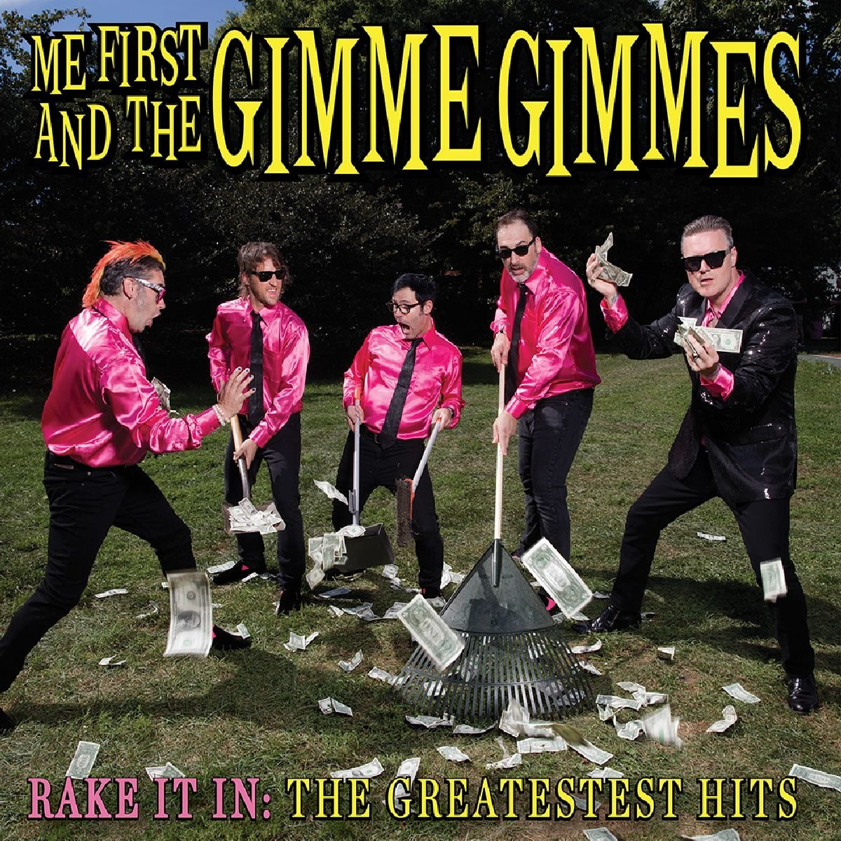 Me First and The Gimme Gimmes - Rake It In: The Greatestest Hits (2017) [WEB FLAC] Download