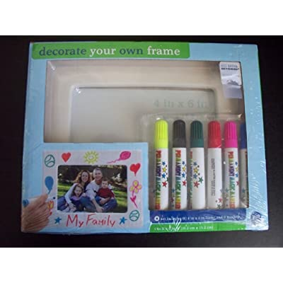 Decorate Your Own Photo Frame Kit: Toys & Games