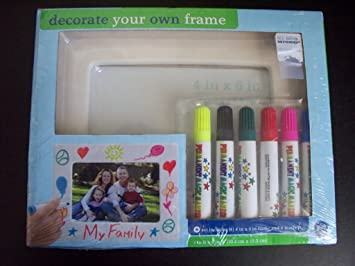 Decorate Your Own Photo Frame Kit By Bed Bath Beyond Amazon Co