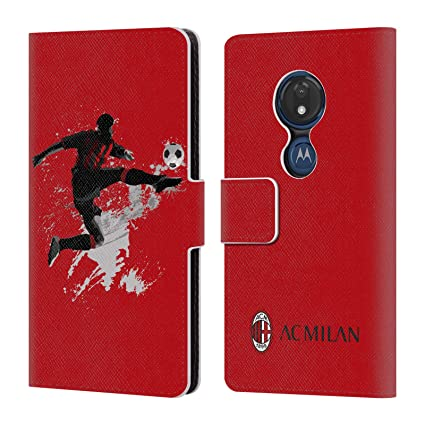Amazon.com: Official AC Milan Kick 1 2018/19 Teens Leather ...