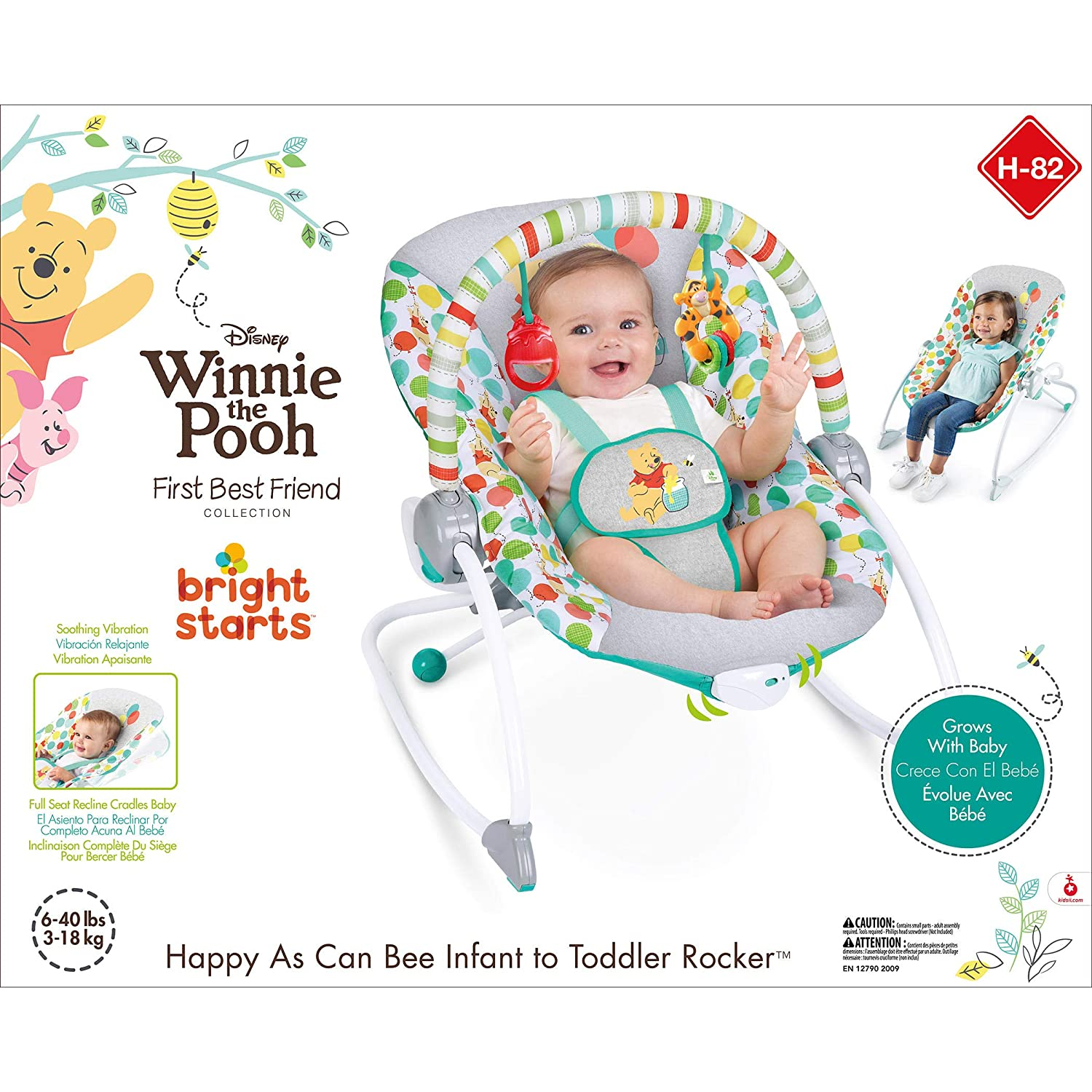 Disney Baby Winnie the Pooh Happy As Can Bee Infant to Toddler ...