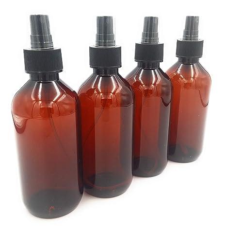 Avalon - Paquete de 4 Botellas de plástico vacías de 300 ML con ...