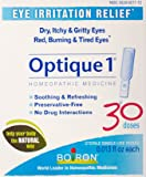 Boiron Optique 1 Eye Irritation Relief Eye Drops, 30 Count (0.013 fl oz each)