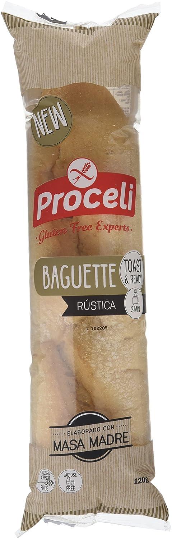 Proceli Baguette Rústica - 120gr [Pack de 8]