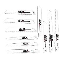 "10 Pcs 6"" 8"" Reciprocating Saw Blade Set Wood Metal Sheet Pipe Blades Kit High-C power tool 6TPI 10TPI 18TPI 6"" 8"" wood…"