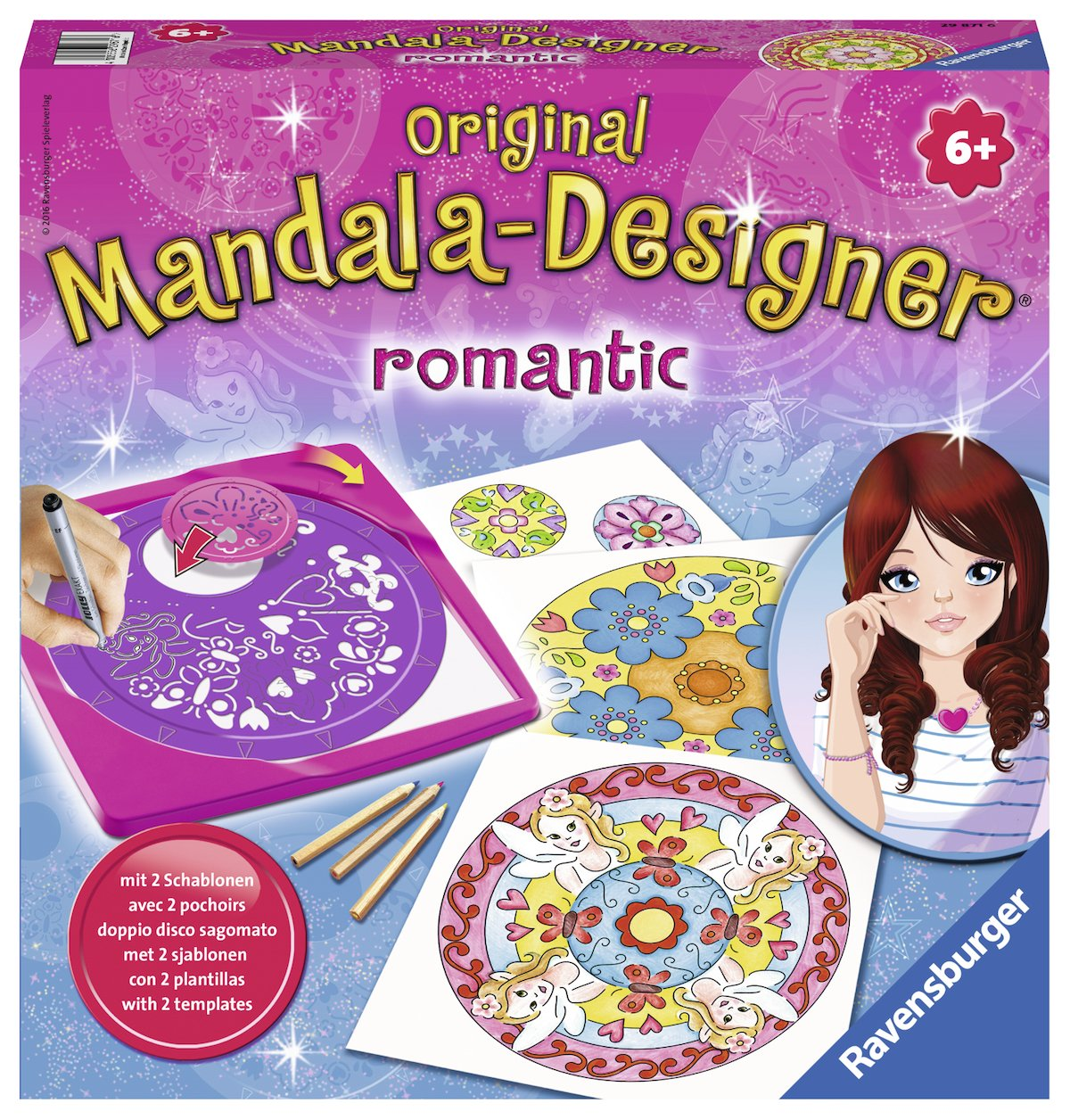 Mandala-Designer Romantic Mandala-Designer® Midi: Amazon.es: Libros en idiomas extranjeros