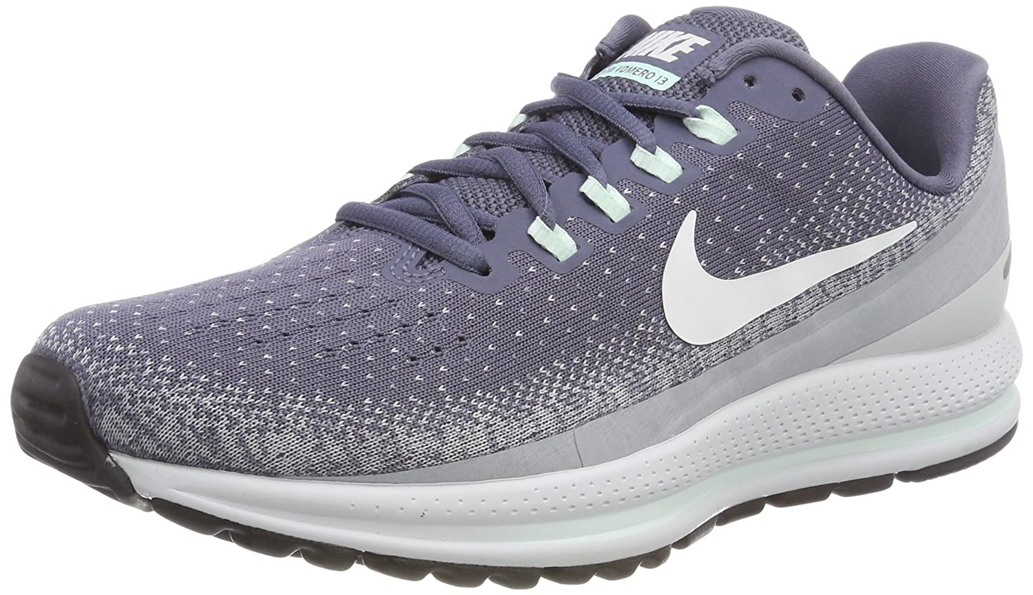 NIKE Women's Air Zoom Vomero 13 Running Shoe B078RX3VB2 7.5 B(M) US|Light Caron /Summit White-wolf Grey