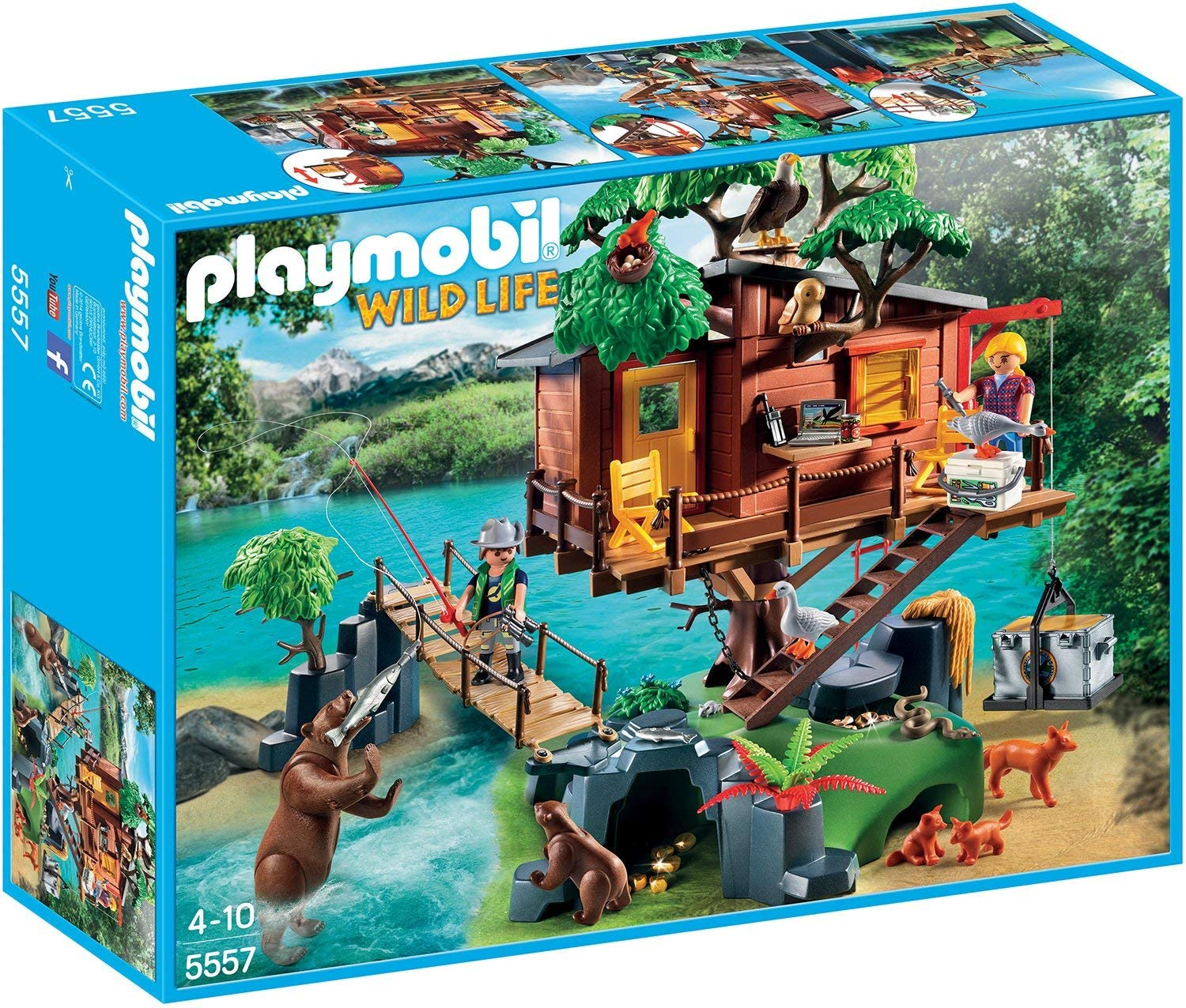 Playmobil Casa del Árbol de Aventuras 5557: Amazon.es: Juguetes y ...