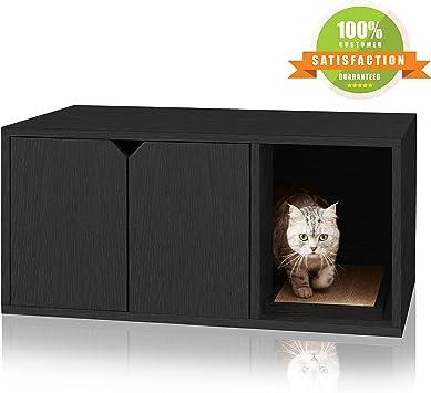 Amazon.com: Way Basics - Caja de arena para gatos ...