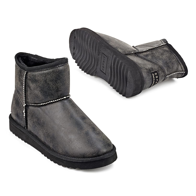 Esprit - Damen - UMA VINTAGE BOOT - Stiefel - schwarz AAojKg4t