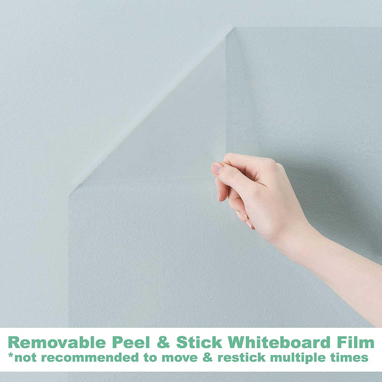f5cbf96ed40 Amazon.com   Think Board Clear Self-Adhesive Whiteboard Wall Sticker ...