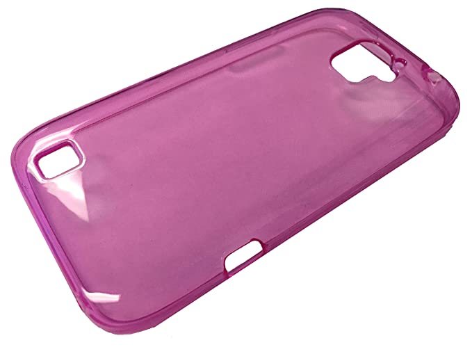 new style 3fb30 cb258 For ZTE Citrine LTE Z716BL Z717VL Soft TPU Crystal Skin Protective Case  Phone Cover + Gift Stand (TPU Pink)