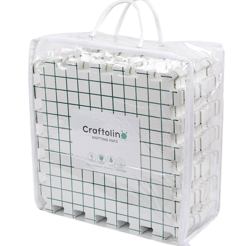 Amazon.com: Craftolino Blocking Mats for Knitting - 9 Extra Thick ...