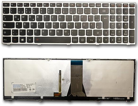 Teclado para IBM Lenovo Ideapad Z51-70 M50-70 Z50-70 Z50-75 E50-80 E51-80 B50 G50 G70 con Backlite