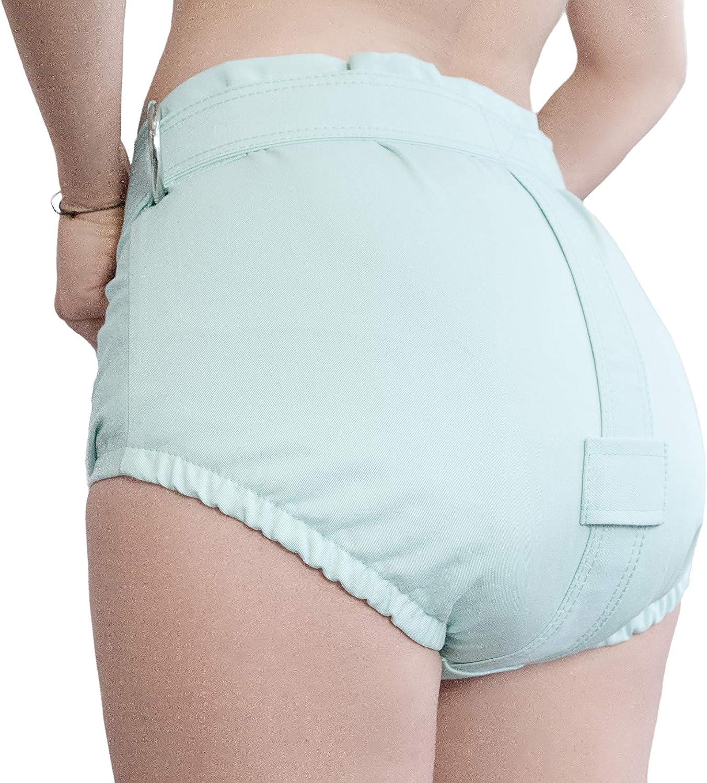Minze Unterhosen mit Segufix-Schloss und Schl/üssel die Windel Entfernung unm/öglich machen ABDL