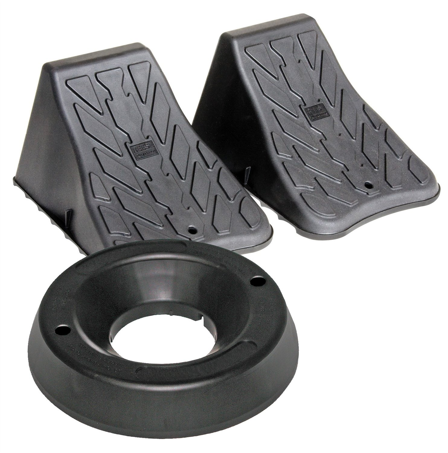 Reese Towpower 7000200 Wheel and Dock Chock Combo - 3 Piece