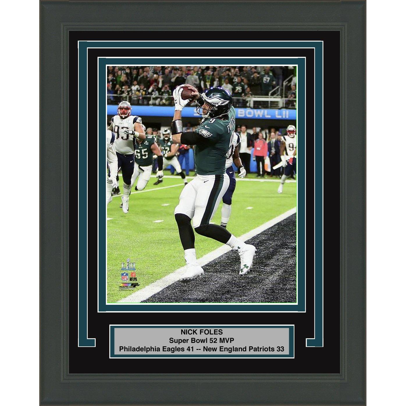 low priced 758b6 fb342 Amazon.com: Framed Nick Foles Philadelphia Eagles Super Bowl ...