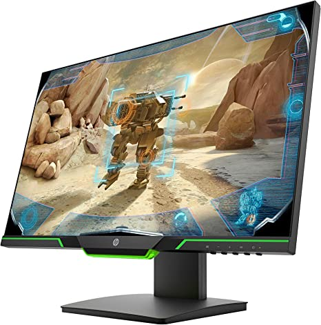 HP 25 X Monitor de Gaming 24.5 pollci, FHD 1920 x 1080, 1 ms, Negro: Amazon.es: Informática
