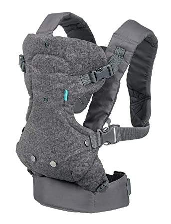 Infantino Flip Advanced 4-in-1 Convertible Carrier Light Grey