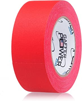 Red Gaff Tape