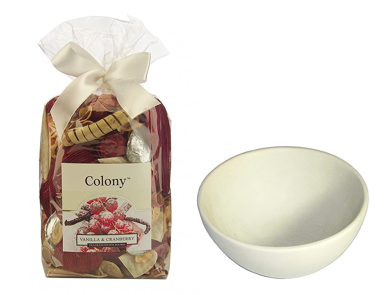 Colony Luxury Fragranced Pot Pourri - your choice of scent - Large Size (Add 6in / 15 cm Soapstone display bowl) Wax Lyrical