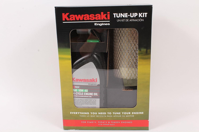 Amazon.com : Kawasaki Genuine 99969-6421 Tune Up Kit For FX481V FX541V FX600V 10W-40 : Garden & Outdoor
