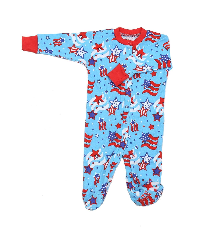 0cf04de96aff Amazon.com  New Jammies Organic Cotton Footie  Infant And Toddler ...