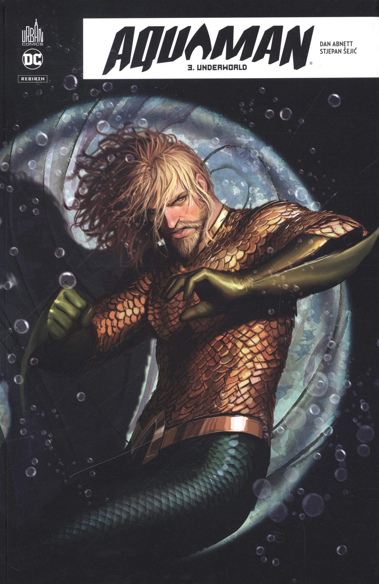 aquaman rebirth debut