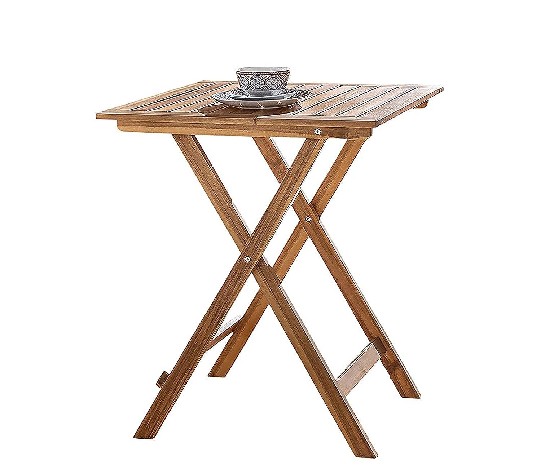 Sam Gartentisch 60x60 Cm Blossom Klappbar Akazien Holz Fsc 100