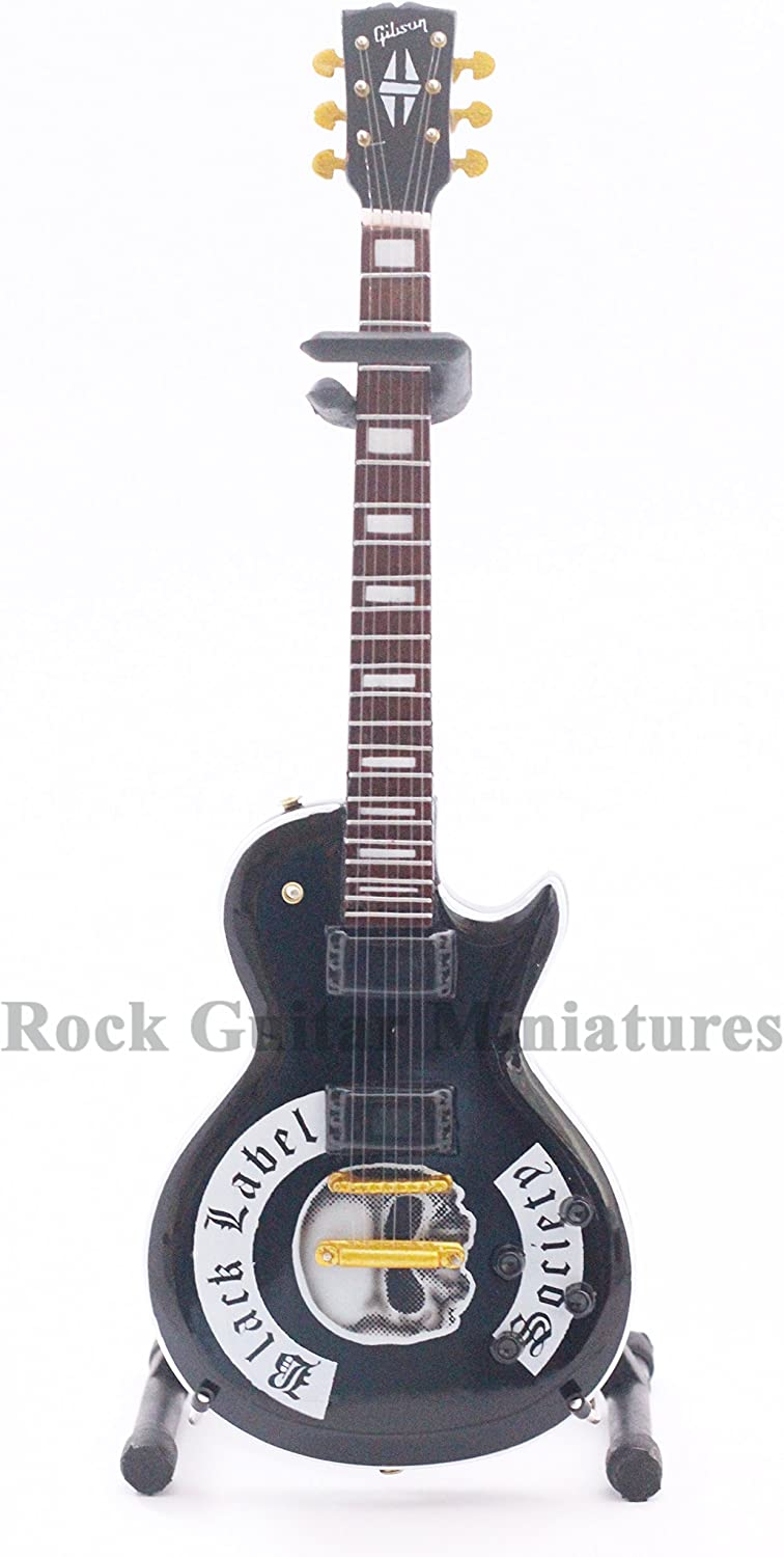 RGM129 Zakk Wylde Black Label Society Guitarra en miñatura: Amazon ...