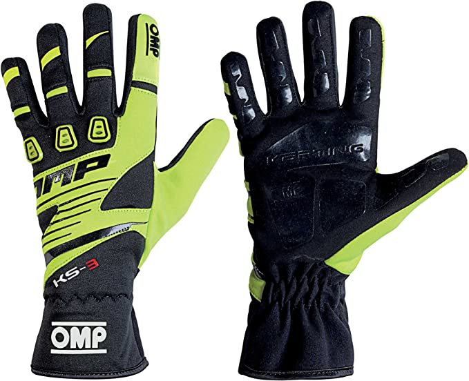 Omp Ks 3 Ks3 Kart Karting Kk02743e High Grip Gloves In Adult And Kids Sizes Sport Freizeit