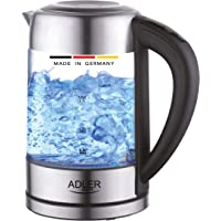 Germany touch control glass kettle 2200W (ADLER)