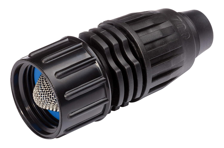 "Rain Bird QL075FHTX Drip Irrigation Quick Lock Fitting, 3/4"" Female Hose Thread x .700"" Drip Irrigation Tubing"