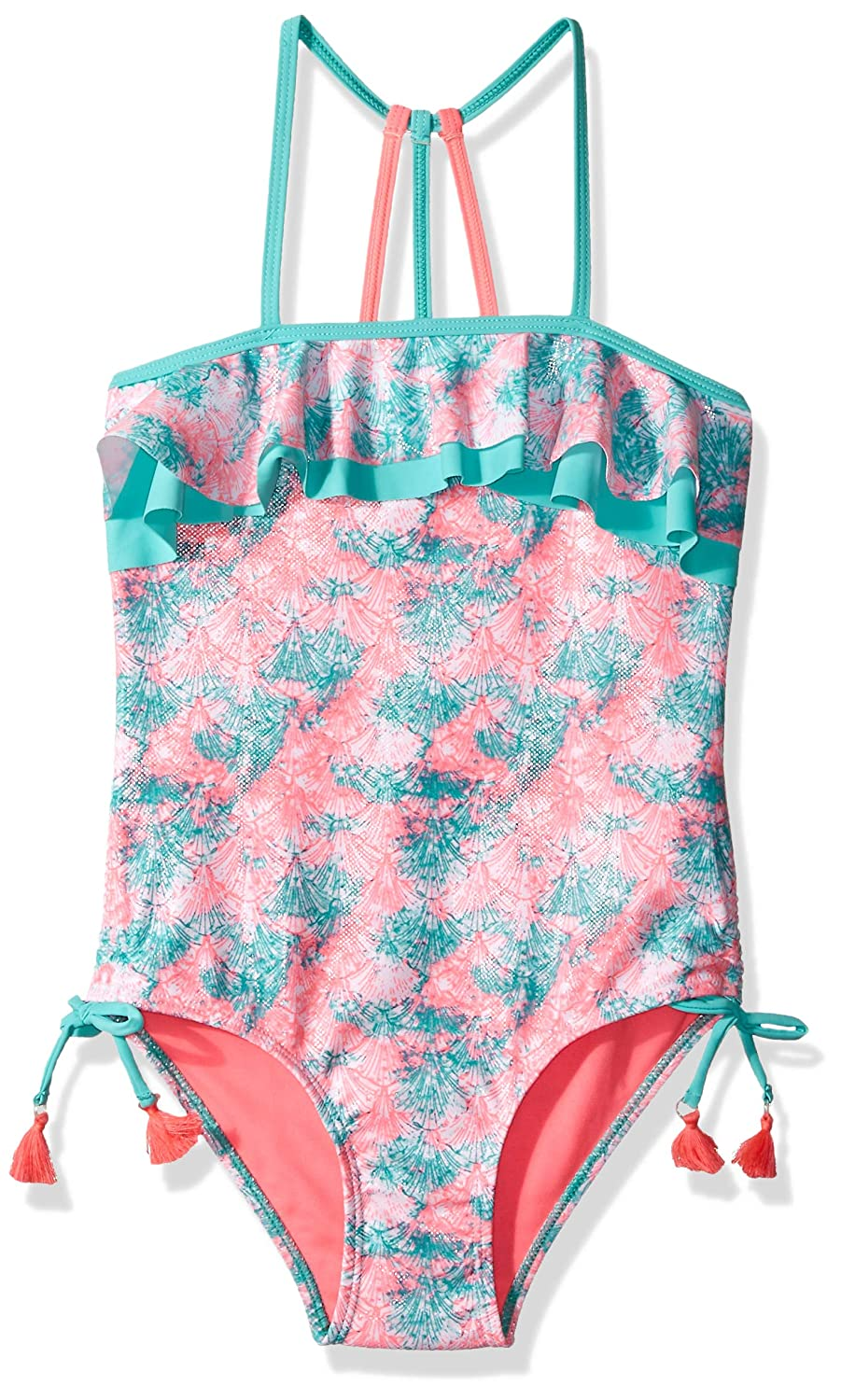 Limited Too Big Girls Printed 1pc Swimsuit