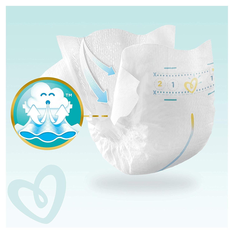 3 /– 6 kg 1 paquete de 54 unidades Pampers Premium Protection New Baby Pa/ñales talla 2 1 unidad .