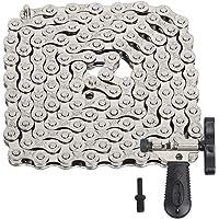 LOPOTIN Fietsketting Fiets Derailleur Ketting Links Staal Hoge Sterkte Speed Bike Chain Plating Zilver met Fiets ketting…