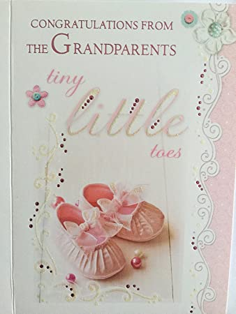 Congratulations from the grandparents a beautiful high quality congratulations from the grandparents a beautiful high quality card to congratulate new m4hsunfo