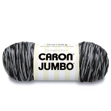Caron Jumbo Ombre Yarn Dalmation 1 Ball 12 oz