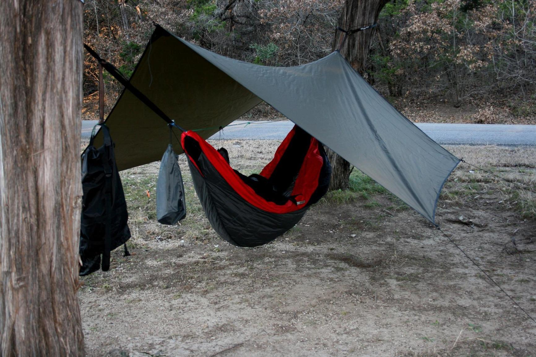 Hennessy Hammock Hex Rainfly/Rain Tarp-great fly!