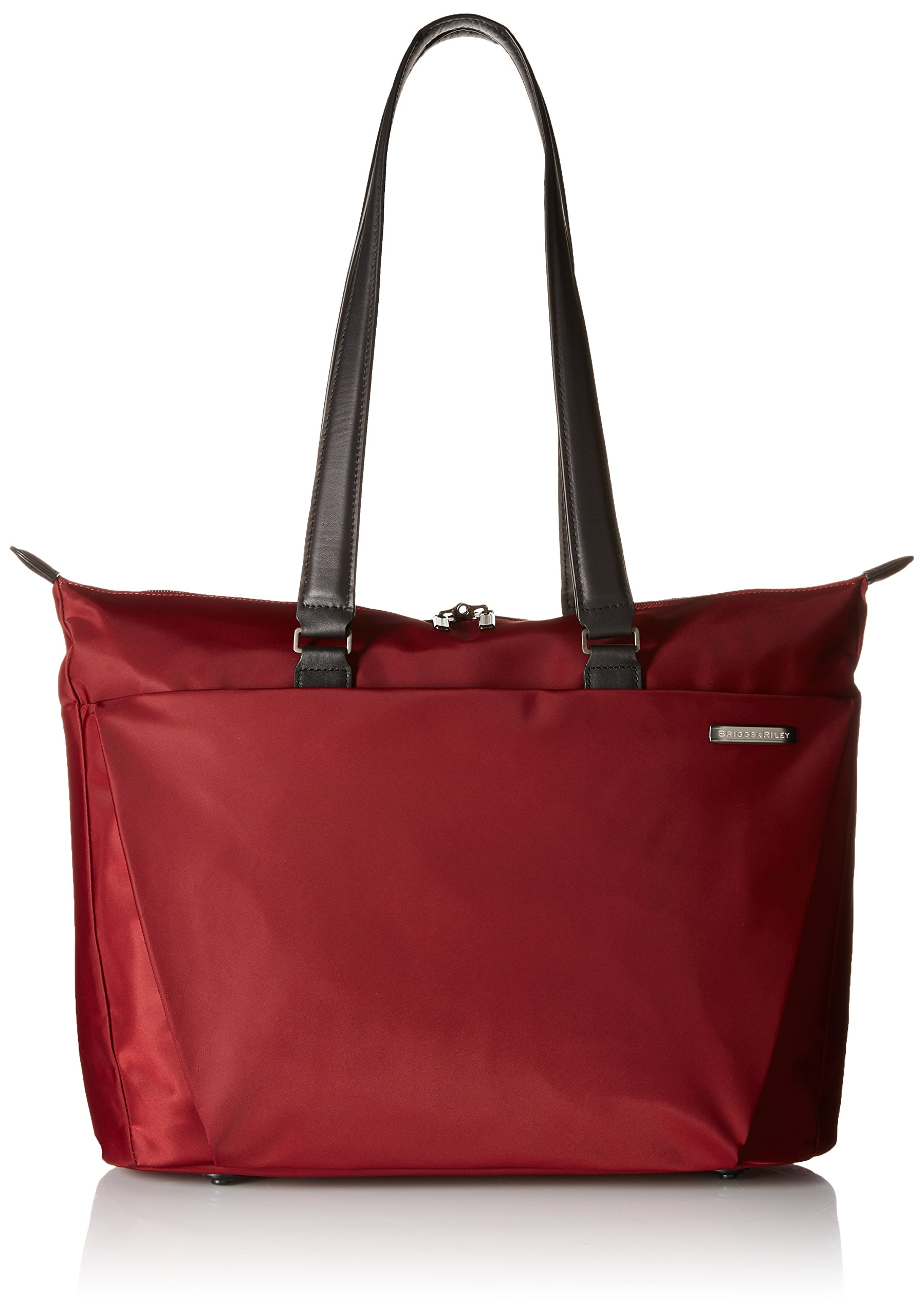 Briggs & Riley Sympatico Shopping Tote, Burgundy