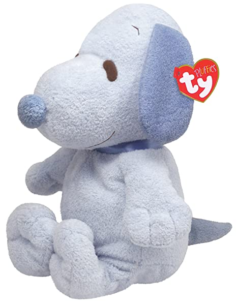 aa664d0670b Amazon.com  Ty Pluffies Snoopy - All Blue  Toys   Games