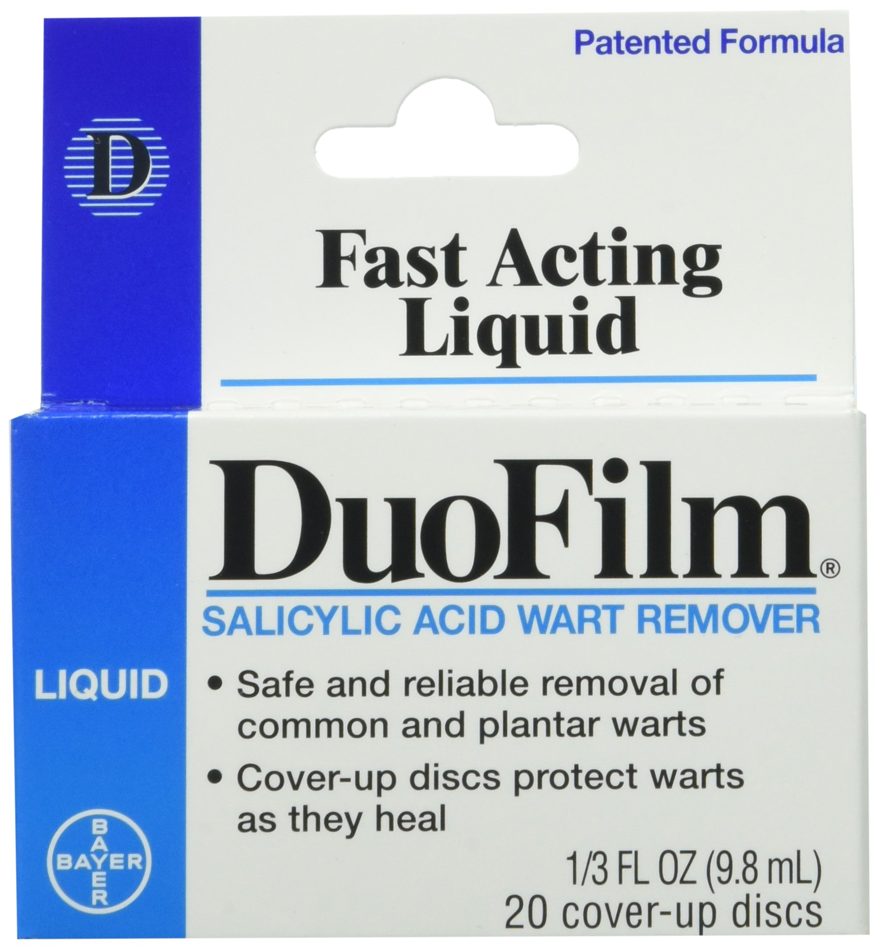 Duofilm Liquid Salicylic Acid Wart Remover - 1/3 Oz (Pack of 2) by Duofilm