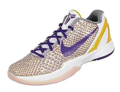 separation shoes fa45b 7e191 ... wholesale nike mens zoom kobe vi 3d home edition 10 m us white purple  del sol