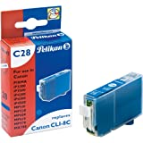 Pelikan C28  Cartouche compatible pour Canon CLI 8C  13ml Cyan