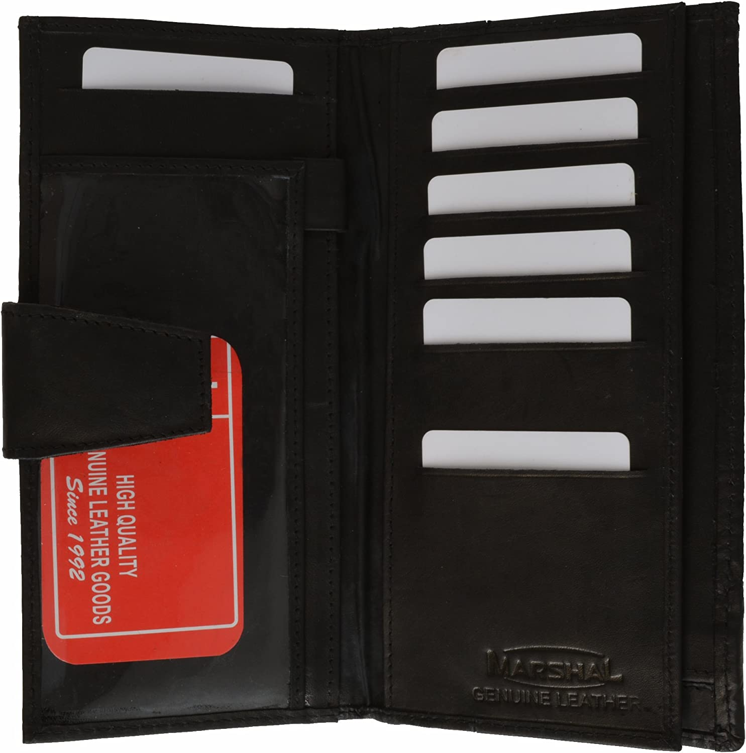 Ladies Checkbook Wallet and Credit card Holder with Id Window by Marshal